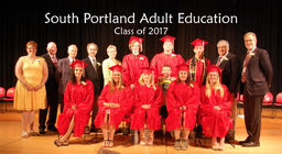 Adult Education Graduation Class of 2017