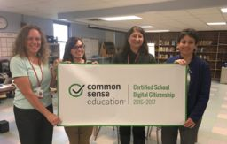 Memorial Middle School honored for Digital Citizenship programming