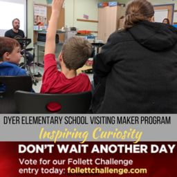 Support Dyer Elementary in Library Challenge